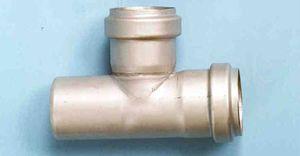 canalización de hierro fundido