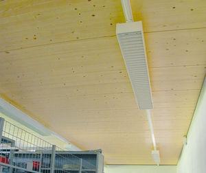 losa de pavimento de madera / de madera laminada encolada