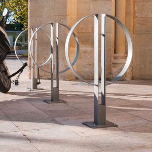 aparcabicis de acero / para espacio público