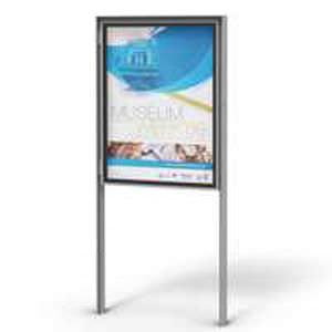 panel indicador de exterior / de aluminio