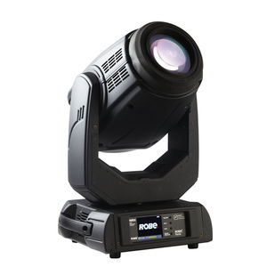 proyector con cabezal móvil con lámparas descarga / para iluminación escénica / wash / de cambia colores