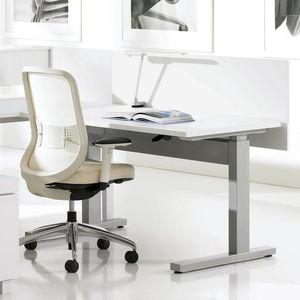 canaleta de cableado de plástico / para escritorio / profesional / vertical