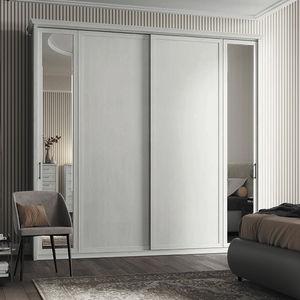 armario modular / clásico / de melamina / con puertas corredizas