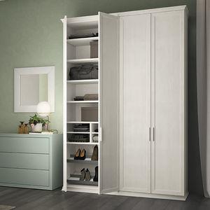 armario modular / clásico / de madera / con puertas batientes