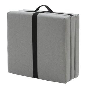 puf contemporáneo / de tejido / cuadrado / modular