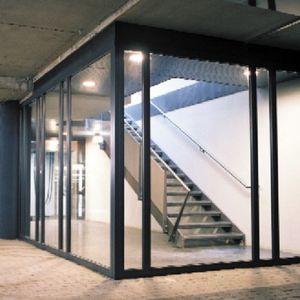 panel de construcción de vidrio