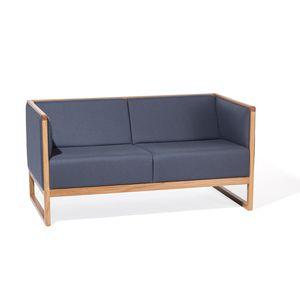 sofá contemporáneo / de tejido / de cuero / de haya
