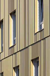 revestimiento de fachada de aluminio