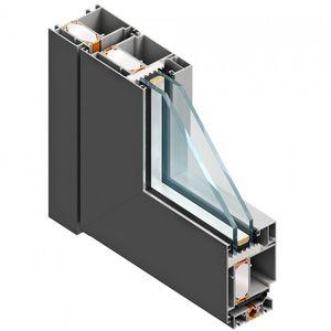 perfil para puerta de aluminio / de poliamida / de EPDM / de corte térmico