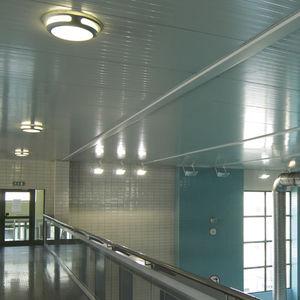 luminaria fluorescente compacta / redonda / cuadrada / de aluminio fundido