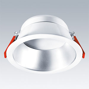 downlight empotrable / LED / redondo / de vidrio