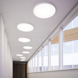 plafón contemporáneo / redondo / de aluminio / de policarbonato