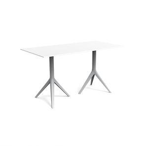 mesa contemporánea / de aluminio fundido / de aluminio extruido / de polietileno