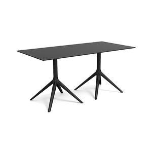 mesa contemporánea / de aluminio pintado / de aluminio extruido / de polietileno