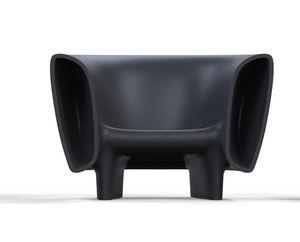 sillón de diseño original / de polietileno / con luz / 100 % reciclable