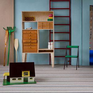 moqueta tufting / de bucles / de lana / para uso residencial