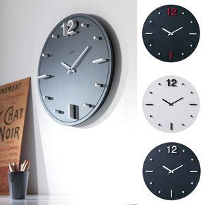 relojes contemporáneos / analógicos / de pared / de aluminio