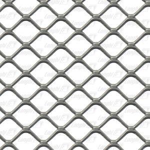 chapa expandida / de acero / de aluminio / de cobre