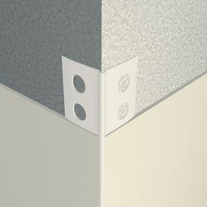 perfil de acabado de PVC