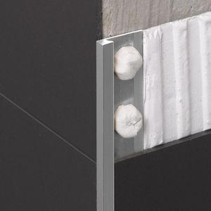 perfil de acabado de aluminio