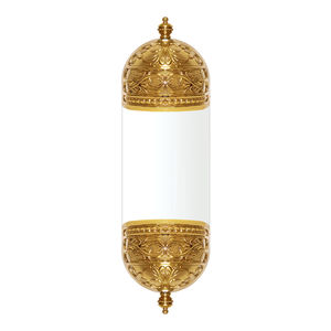 aplique clásico / de metal / LED / dorado