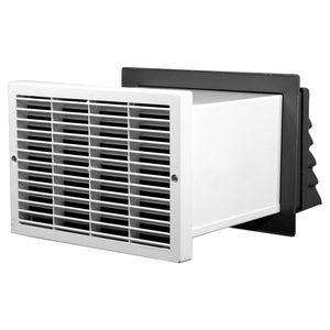 unidad de ventilación de doble flujo / descentralizada / residencial / para cuarto de baño