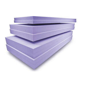 aislante térmico / de poliestireno extruido / para forjado / para techado
