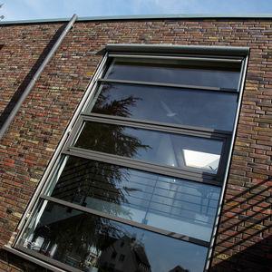 perfil de ventana de aluminio / con aislamiento térmico / acústico / antiintrusión