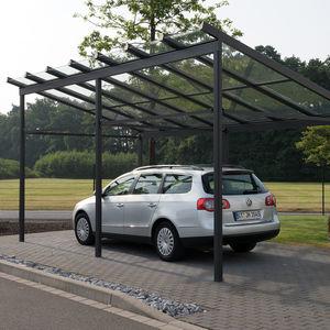 cubierta para aparcamiento de aluminio