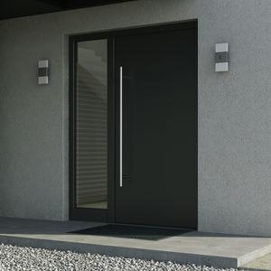 perfil para puerta de aluminio / con aislamiento térmico / de seguridad / acústico
