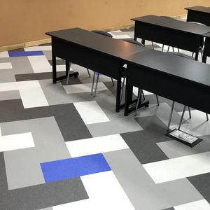 pavimento de corcho / de caucho / antideslizante / acústico