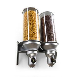 dispensador de alimentos secos en encimera