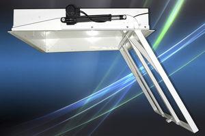 soporte para TV de techo contemporáneo / motorizado para techo / con mando a distancia / con elevador