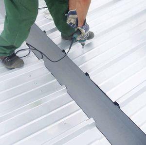 sistema de tejado de metal
