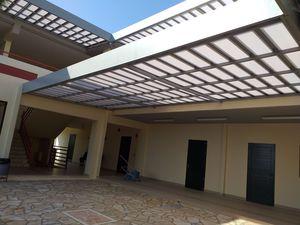 cobertura para pérgola con protección solar
