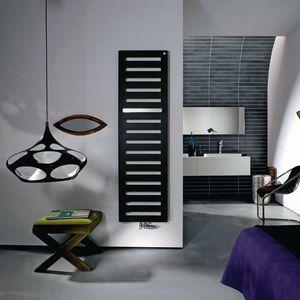 radiador toallero de agua caliente / eléctrico / de acero / contemporáneo