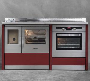 cocina con horno de gas / eléctrica / de vitrocerámica / mixta