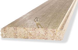 losa de pavimento de madera / de madera laminada encolada / para techo / para tejado