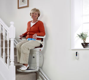 silla salvaescaleras de interior
