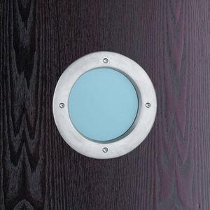 ojo de buey de aluminio / para puerta