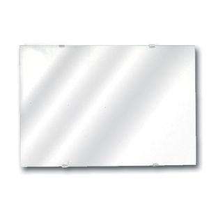 espejo de pared / contemporáneo / rectangular / para espacio público