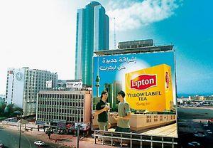 valla publicitaria para edificios