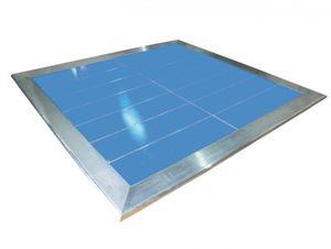 panel radiante eléctrico