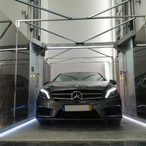 ascensor para coches hidráulica