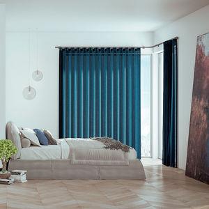 riel para cortina para montaje en techo / con fijación mural / accionado mediante cordones / con accionamiento manual