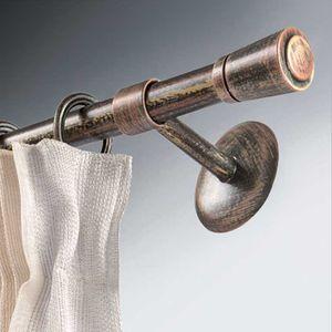 barra para cortina de hierro forjado