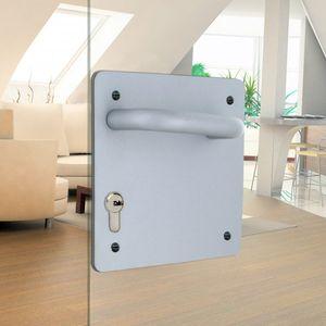 tirador de puerta para puerta / de hierro / contemporáneo