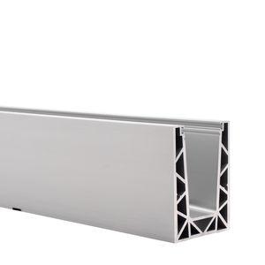 sistema de fijación de aluminio / para interiores / para fachada / para fachada de vidrio