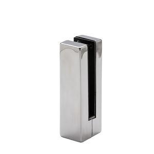 pinza para vidrio de acero inoxidable / para paneles / para barandilla / para interior