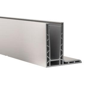 sistema de fijación aluminio / para paneles / para barandilla / para exterior